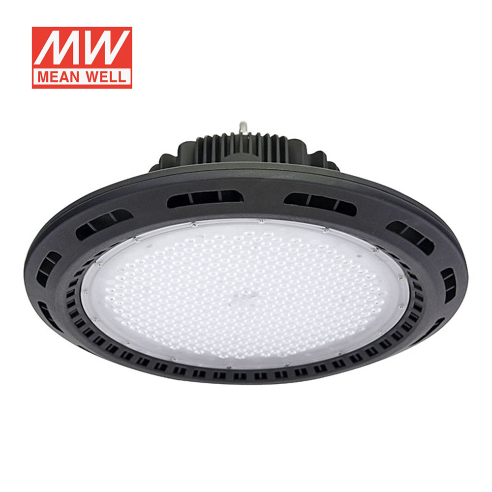 Campana Led industrial UFO 120W chip Philips + MeanWell driver